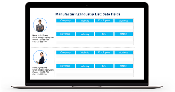 Manufacturing Industry Email List - Manufacturing Companies Mailing List