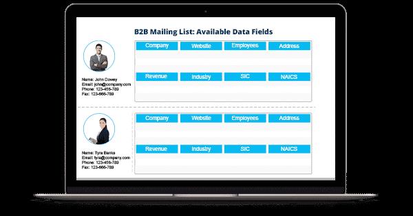 B2B Email List - B2B Mailing List - List of B2B Companies