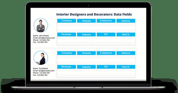 Interior Designers And Decorators Mailing List
