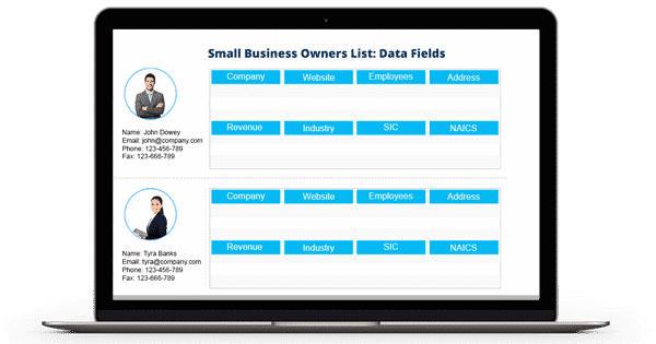 Small Business Owners List - SMEs Email and Mailing List - SME List