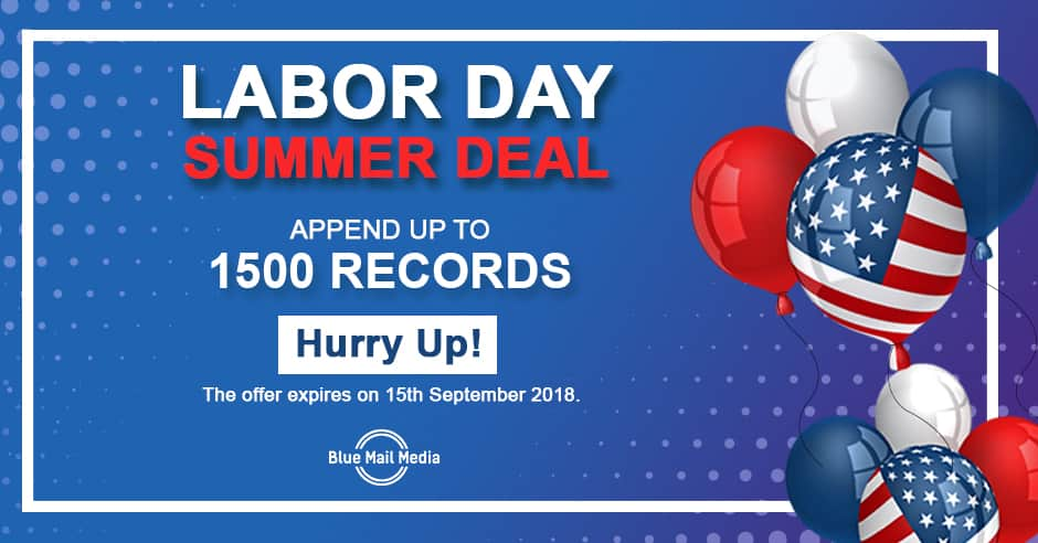 Amazing Deals on Labors Day - 2018 Labors Day Offers on