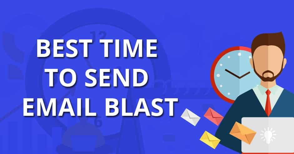 Best email blast timings